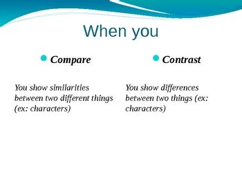 Essay comparingcontrasting two people